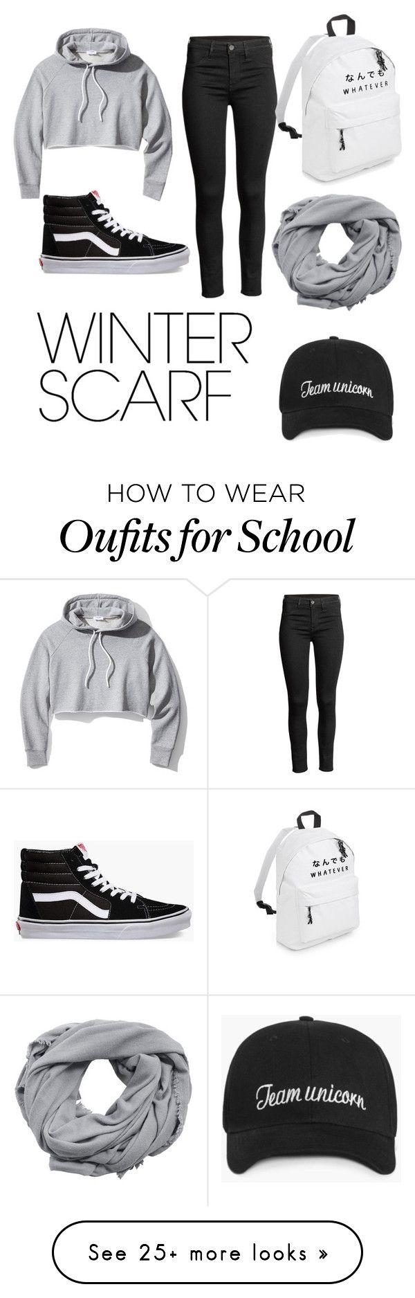 """""""Chill Vibes"""" by katiethealien on Polyvore featuring Frame, MANGO, Vans and winterscarf"""