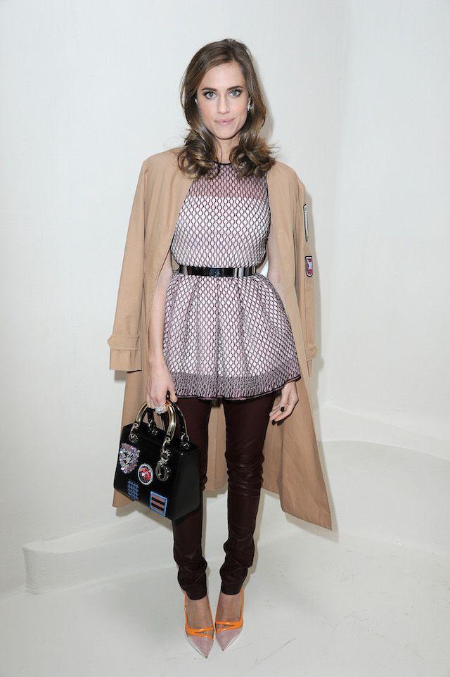Allison Williams Paris Haute Couture: Christian Dior