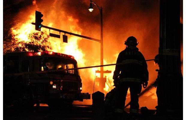 Photos: New Westminster fire