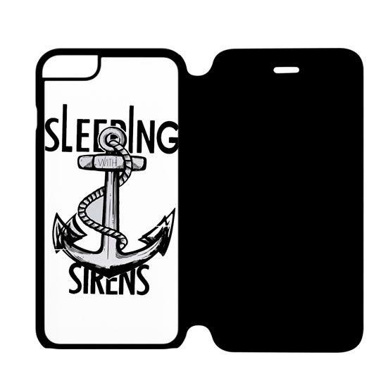 Sleeping with Sirens Anchor Kellin Quinn iPhone 6 Flip Case Cover