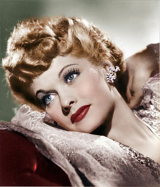 Lucille Ball dreaming