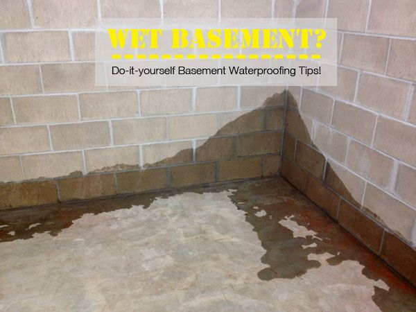 Basement Waterproofing Kits : Best images about diy basement waterproofing on