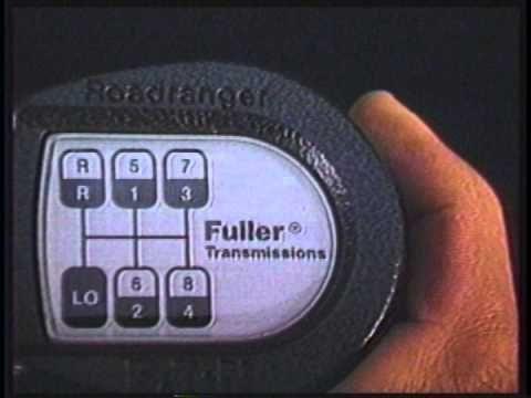 Condução com Transmissão Eaton Fuller RT