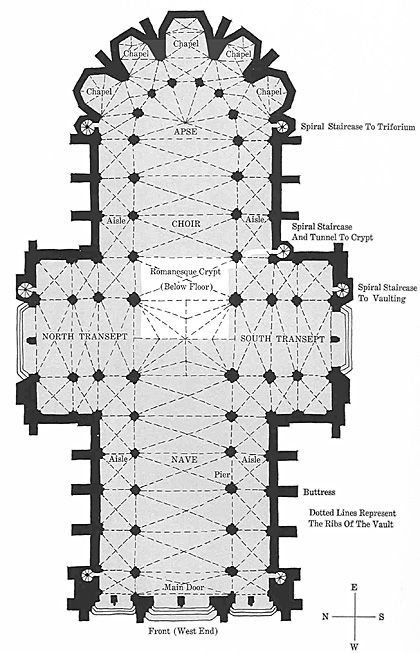 Cathedral Floor Plan The o'jays, Of and The earth