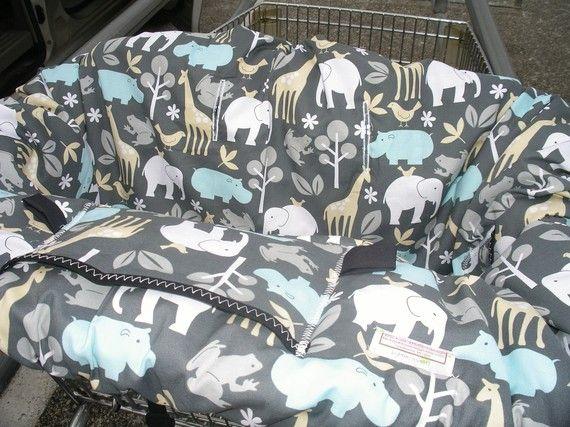 shopping cart cover- boy