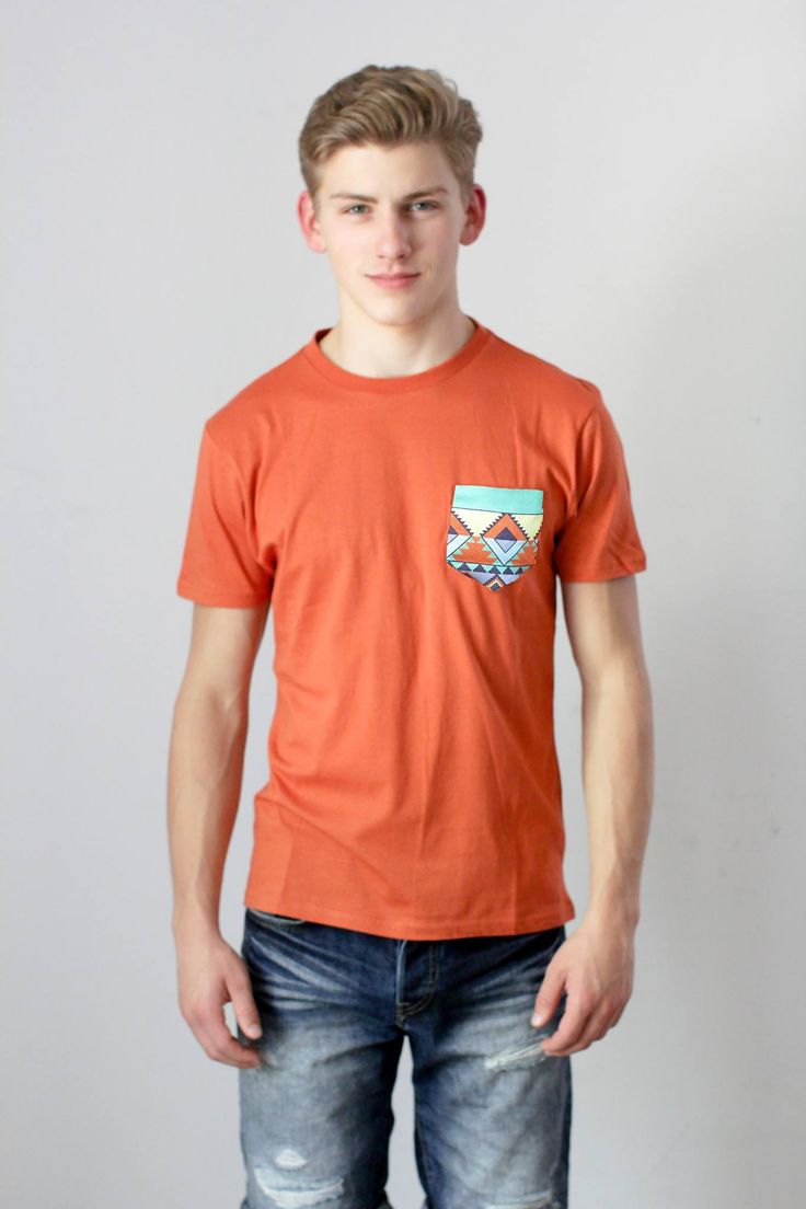 #Wearyourlabel's new Positive Pocket Tee!! #Mens #Fashion #Aztec #Mentalhealth