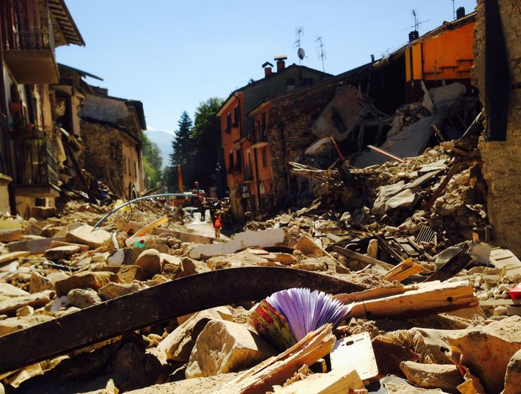 Amatrice, Terremoto del 24 agosto 2016.