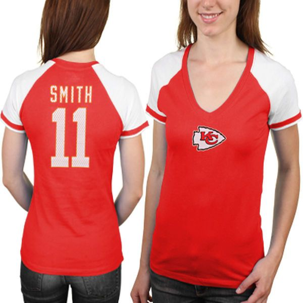 ... Alex Smith Kansas City Chiefs Majestic Womens My Crush Name and Number  T- Shirt - Mens Nike San Francisco 49ers 11 ... db43d36f3