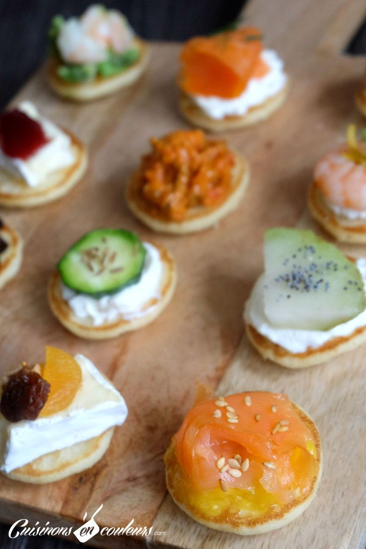 Best 25 blinis toppings ideas on pinterest smoked for Canape toppings ideas