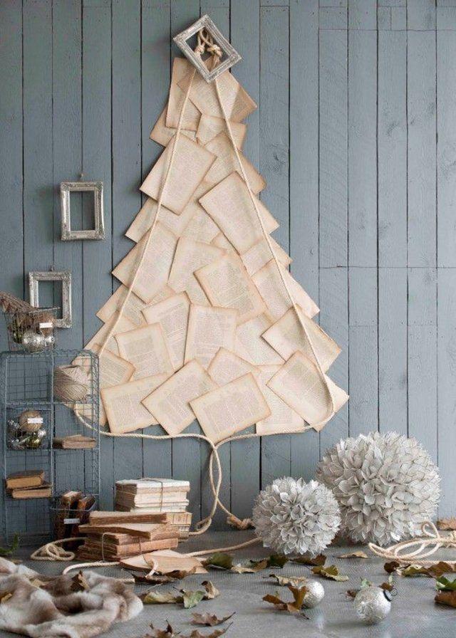 Une déco de sapin de Noël dans un style cabinet de curiosité