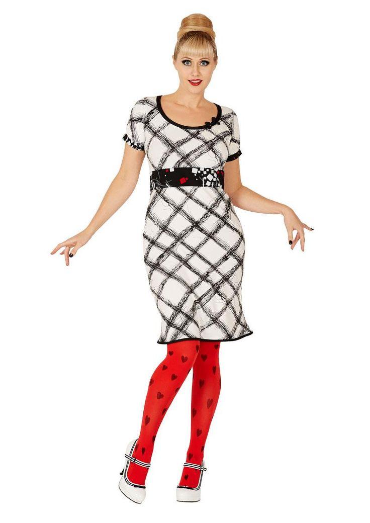 Superfeminin Margot kjole Sarah Single /margot dress