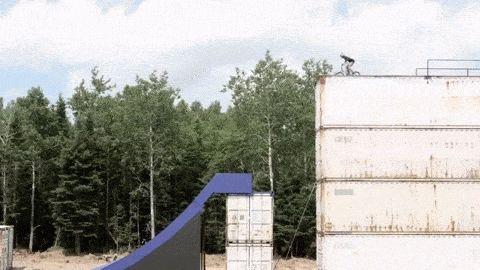 Drew Bezanson's Incredible BMX Video On Non-Existing Ramps