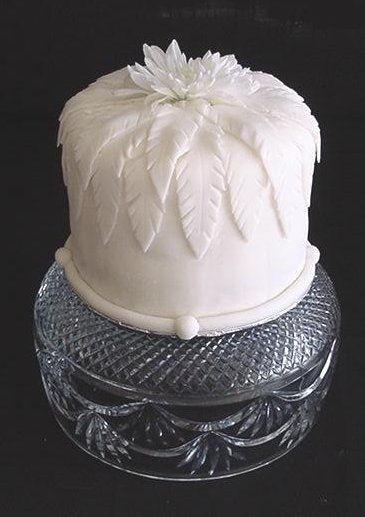 White Dome Cake