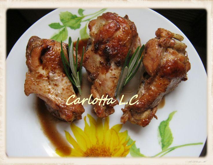 Pollo all'aceto balsamico