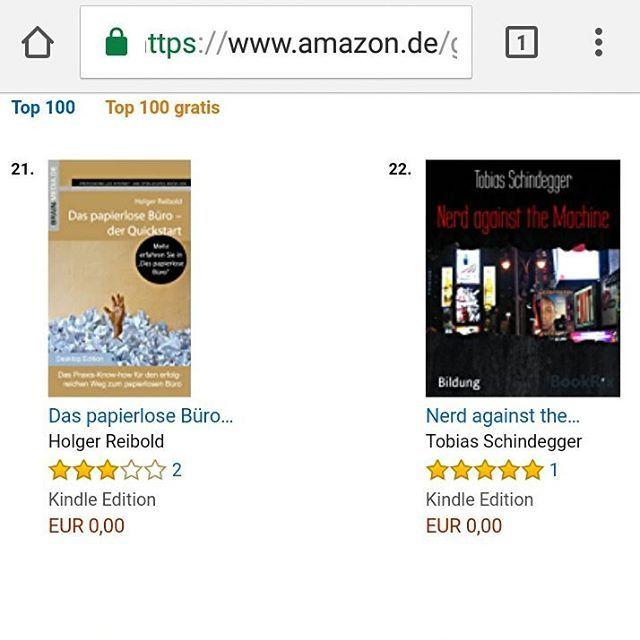 Mein ebook ist auf Platz 22 in der Kategorie #Computer und #Internet - Danke schön :-)