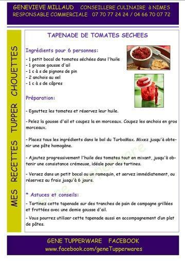 tapenade tomate séchées