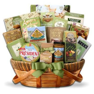 25 best baskets ideas images on pinterest hamper gift gift 9400 the elegant gourmet gift basket is the perfect accesssory for any gathering or ideal as negle Images