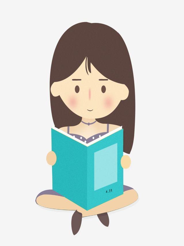قراءة عناصر فتاة خطيرة جدي قراءة فتاة Png صورة للتحميل مجانا Girl Reading Girl Clipart Girl Pattern