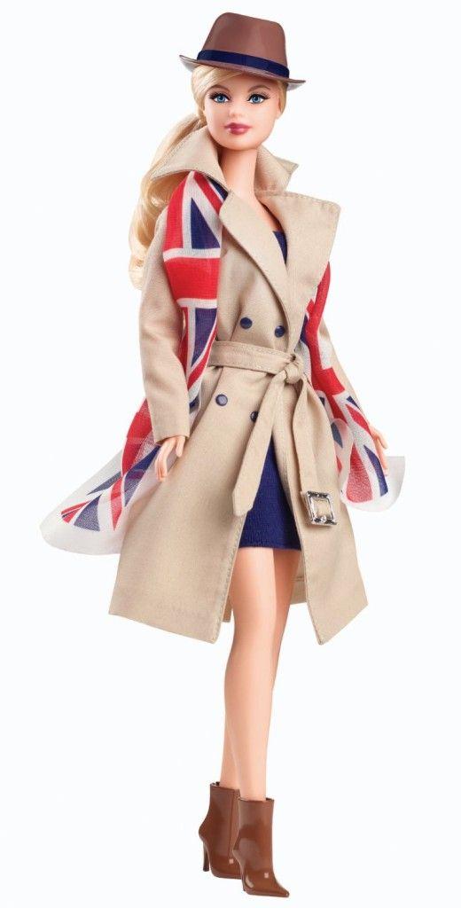 Barbie Dolls of The World United Kingdom Doll