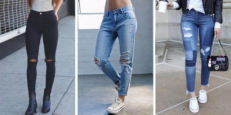 Modelle für Damen Jeans