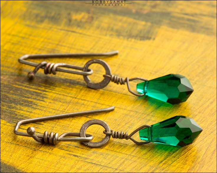 Emerald City Earrings - Jewelry by Jason Stroud.: Cities Earrings, Emeralds Cities, Emeralds Colors, Women Accessories, Earrings Jewelry, Awesome Women, Jason Stroud, Diy Earrings, Amazing Jewelry