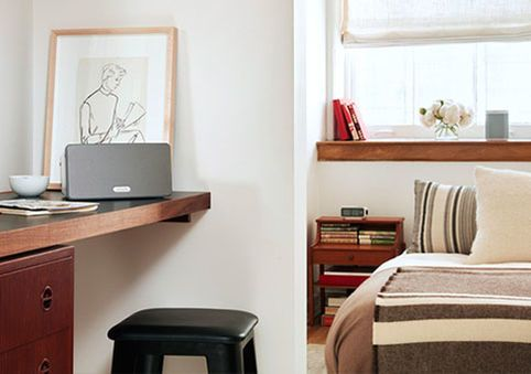 A Sonos wireless sound system enables you to enjoy high-quality audio in every room of your house. Connect to your personal digital music library or to any of the popular streaming services, choose which songs to stream to which rooms, and control everything with an app on your phone.