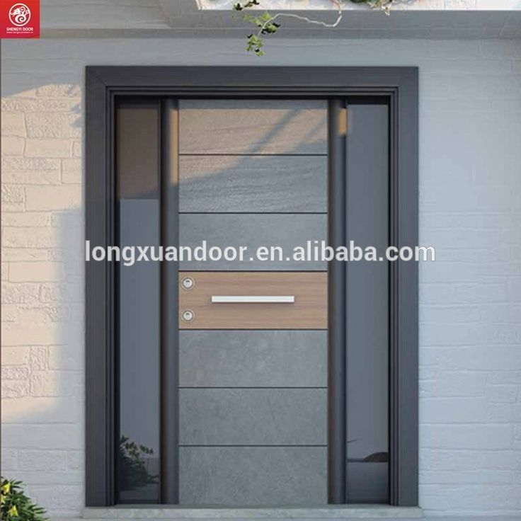 Modern steel security main entrance door designs for house