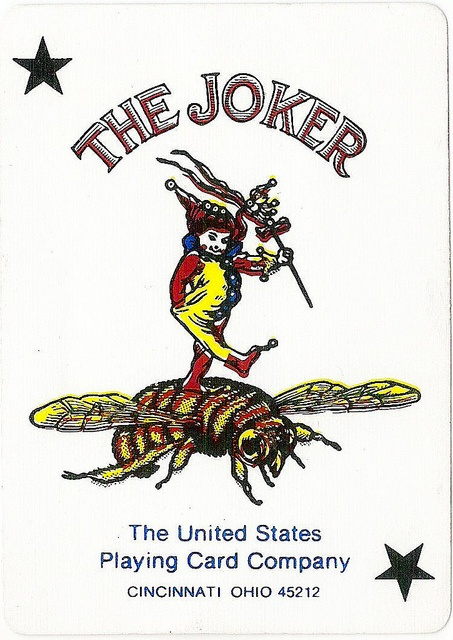 Bee has one of the coolest jokers around. #Playingcards