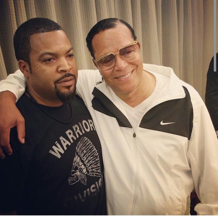 Ice Cube and Minister Farrakhan