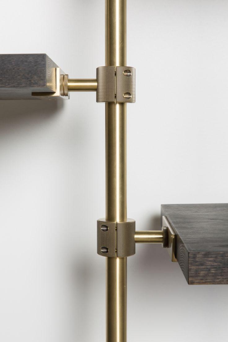 Amuneal: Magnetic Shielding & Custom Fabrication   Loft Shelving System