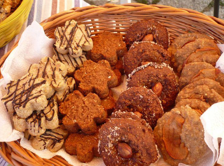 Ovesné a kokosové sušenky prezentované na akci Zažít město jinak