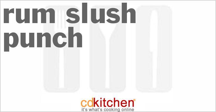 Rum Slush Punch - CDKitchen.com