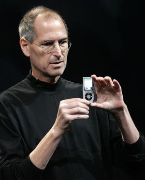"""From Mr. Evan Sharp, """"Steve Jobs - maybe it's trite, but he's why I'm a designer."""" Something tells me that Mr. Jobs would have seen this touching comment."""