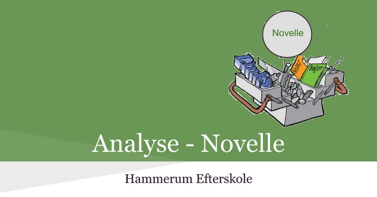 Novelle - Analyse - Google Slides