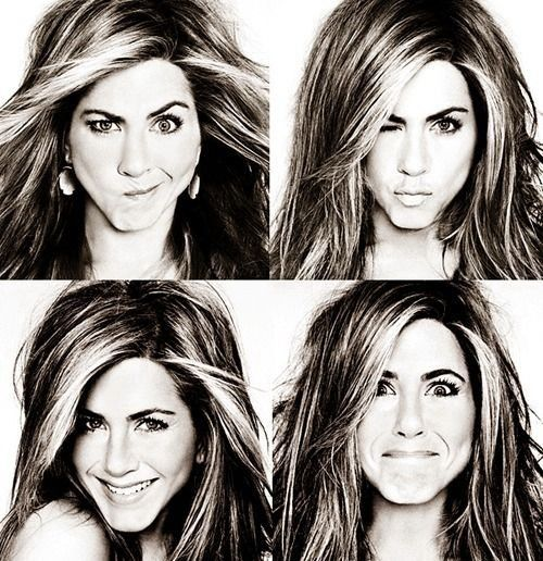Jennifer Aniston..I've always said if I could look like anyone in the world it would be her.