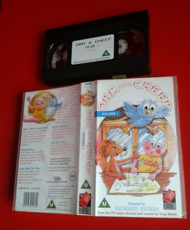 ORM AND CHEEP : VOLUME 1 / ANIMATION VIDEO PAL RARE BRIERS