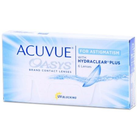 Get the best prices on Acuvue Oasys for Astigmatism contacts online at DiscountContactLenses.com. Try the easy way to buy cheap contact lenses. Lowest Prices Guaranteed.