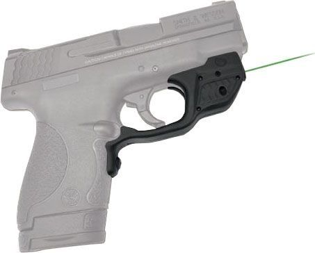 Crimson Trace Green Laserguard For Smith Wesson M&P Shield with Pocket Holster - LG-489GH