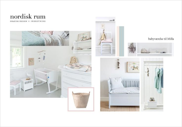 mood board for baby room... - www.oliverfurniture.dk - www.nordiskrum.dk