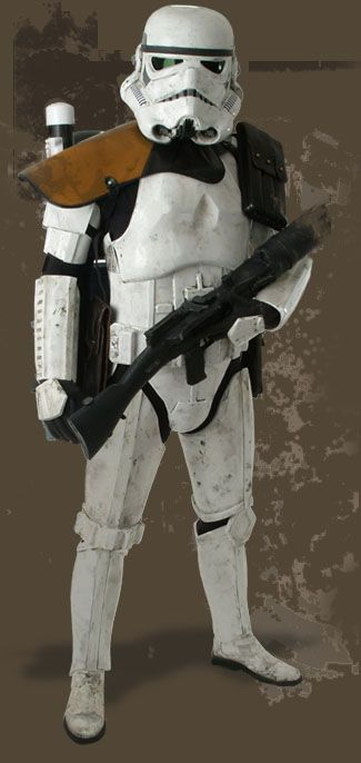 TK409.com Do-It-Yourself Star Wars Props - Stormtrooper Costume Armor TK-409