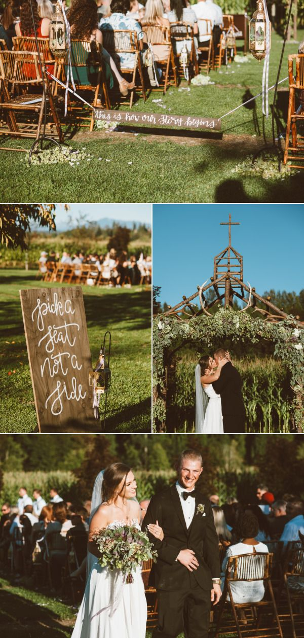 Rustic Summer Wedding at Craven Farms – Style Me Pretty