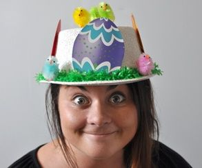 DIY Easter Hats - smart chicks save money and look speggtacular!
