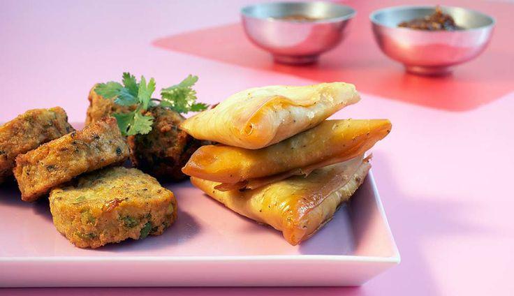 35 best recette de la r union images on pinterest asian for Phyllo dough recipes appetizers indian