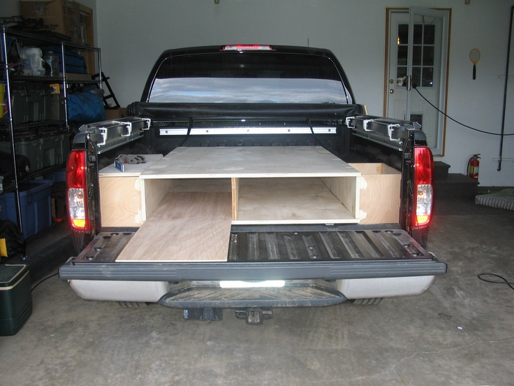 stuff decked vehicles bed storage system cars truck