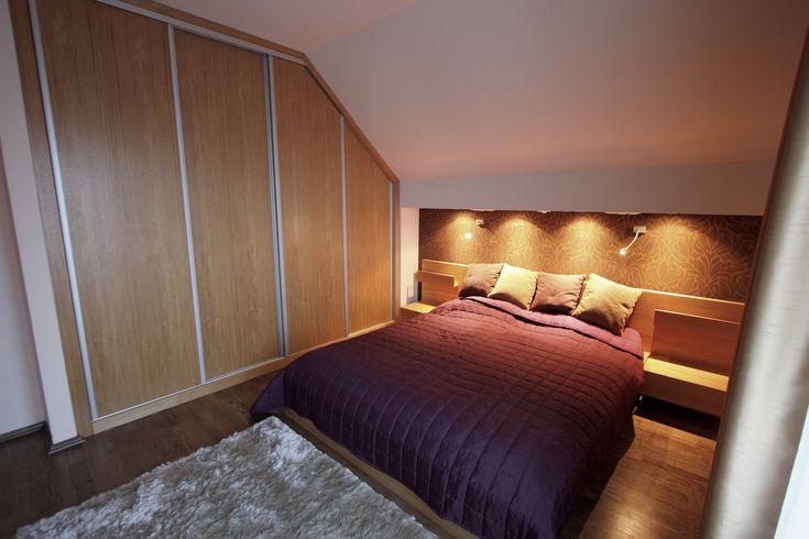 Hálószoba - beépített bútor / bedroom with custom furniture