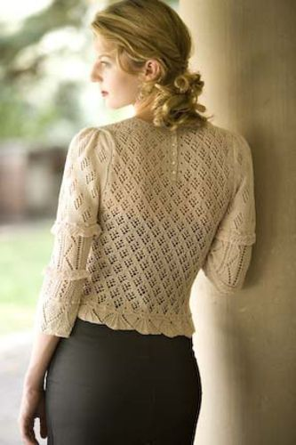 Ravelry: Victorian Lace Blouse pattern by Michele Rose Orne