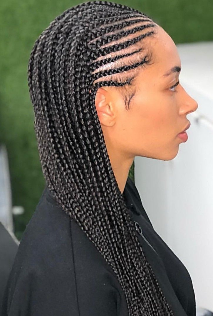 Cornrows And Singles Half Braided Hairstyles Braided Hairstyles Cornrow Hairstyles