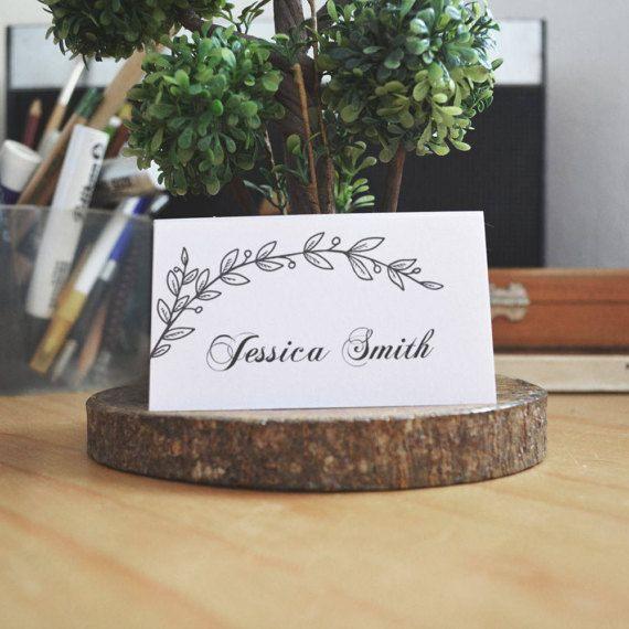 Moderno Plantillas Placecard Regalo - Colección De Plantillas De ...