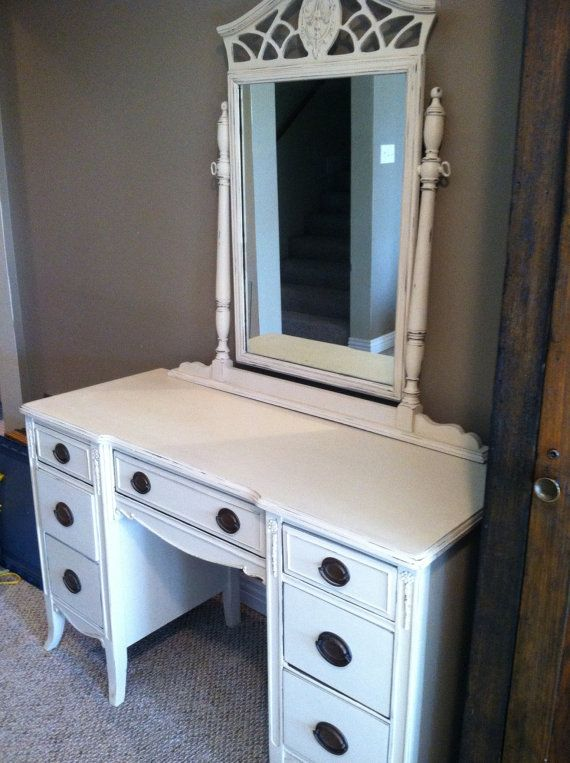 Vintage Dressing Table by OliverBlueCompany on Etsy, $140.00