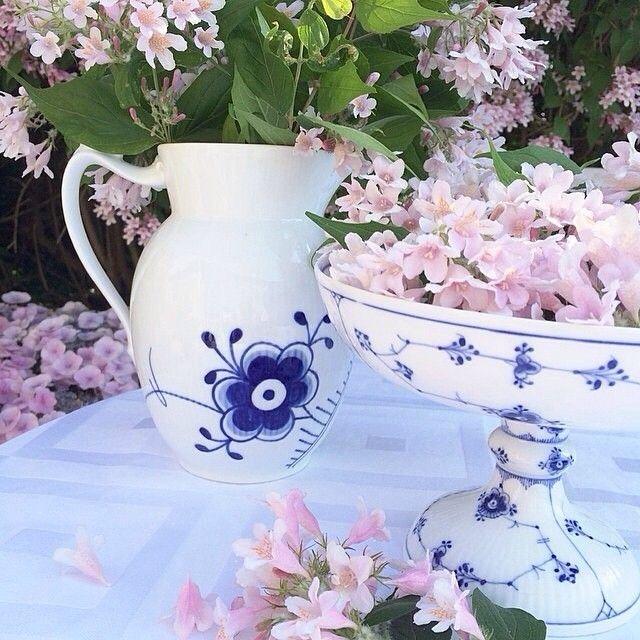 Summer feelings @Trine Reckweg #BlueFlutedMega #BlueFlutedPlain #RoyalCopenhagen